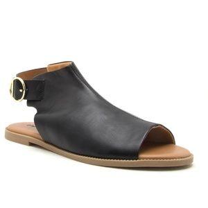 Shoes - Moving Sale! Black Open Toe Mule Sandals